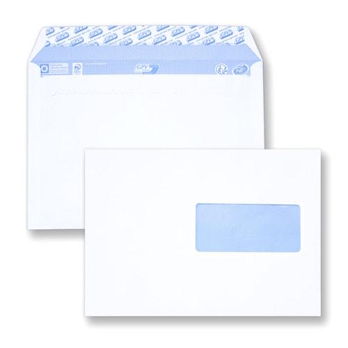 Choisir vos enveloppes C5 162x229 avec fenêtre
