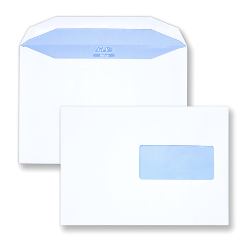 Choisir vos enveloppes C5 mécanisables 162x229 avec fenêtre