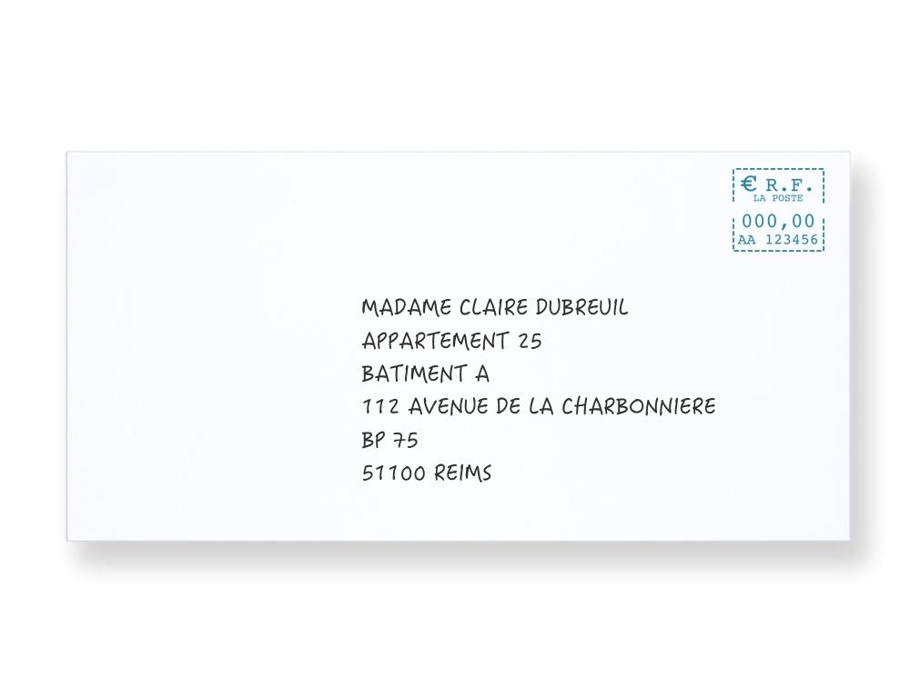 dcc92f7df0cc0c Bien rédiger l adresse destinataire d un particulier sur une enveloppe