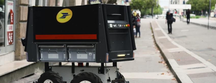La Poste Teste Le Robot Postier Du Futur