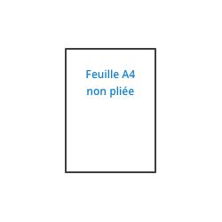 Bureaudeposte.net : feuille à insérer dans une enveloppe C4